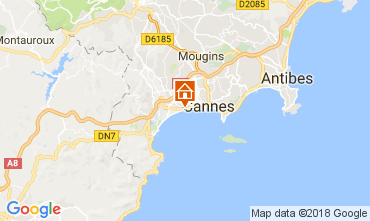 Carte Cannes Appartement 68698