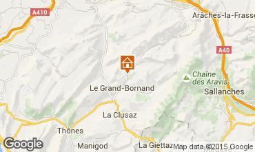 Carte Le Grand Bornand Chalet 101638