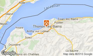 Carte Thonon Les Bains Appartement 102720