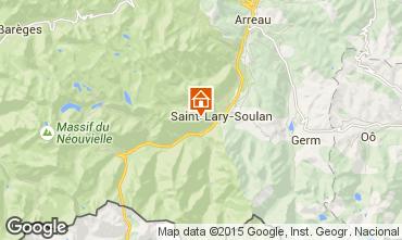 Carte Saint Lary Soulan Studio 14766