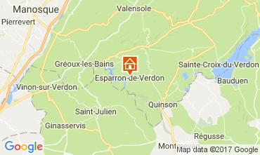 Carte Esparron-de-Verdon Maison 107854