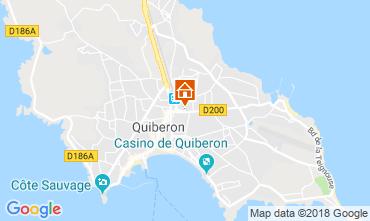 Carte Quiberon Maison 116557
