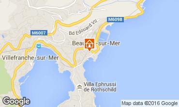 Carte Beaulieu sur Mer Appartement 102978
