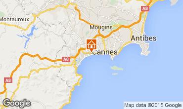 Carte Cannes Appartement 5495