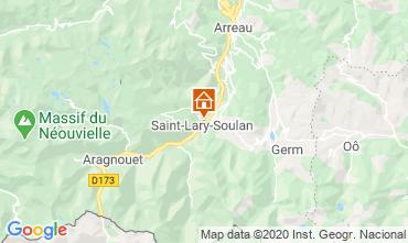 Carte Saint Lary Soulan Studio 102477
