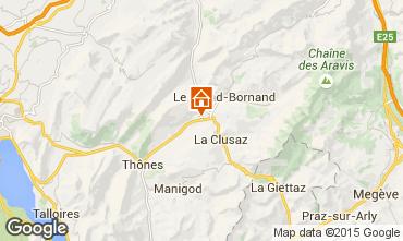 Carte La Clusaz Chalet 66735