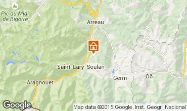Carte Saint Lary Soulan Gite 80216
