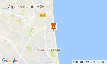 Carte Argeles sur Mer Appartement 110397