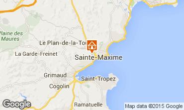 Carte Sainte Maxime Studio 73333