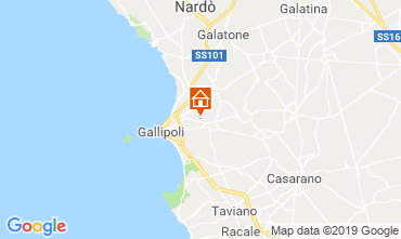 Carte Gallipoli Villa 118430