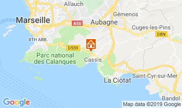 Carte Cassis Villa 118042