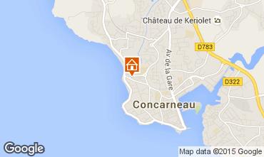 Carte Concarneau Appartement 86139