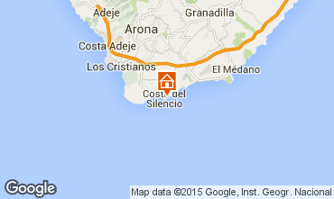 Carte Costa del Silencio Appartement 66629
