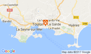 Carte Toulon Villa 110245