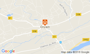 Carte Onzain Mobil-home 113114