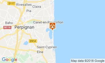 Carte Canet-en-Roussillon Mobil-home 117184