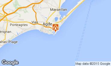 Carte Cap d'Agde Studio 80137