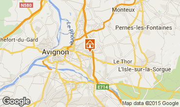 Carte Avignon Chalet 9151