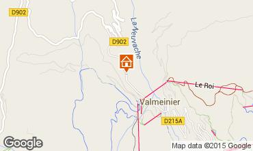 Carte Valmeinier Chalet 3441