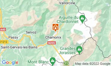 Carte Chamonix Mont-Blanc Chalet 88059
