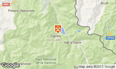 Carte Tignes Studio 3155
