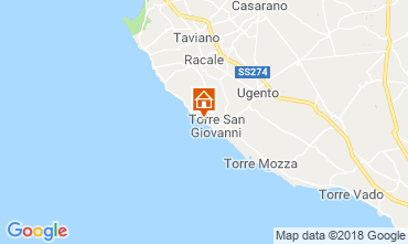 Carte Ugento - Torre San Giovanni Appartement 71810
