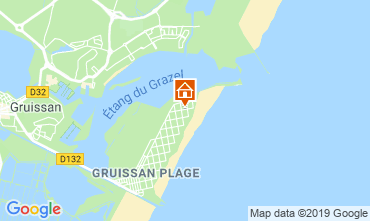 Carte Gruissan-Plage Chalet 119268