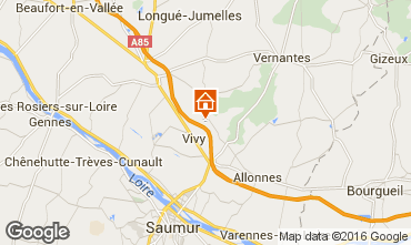 Carte Saumur Gite 81923