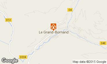 Carte Le Grand Bornand Studio 42969