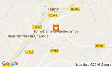 Carte Notre Dame de Bellecombe Appartement 107301