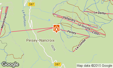 Carte Peisey-Vallandry Appartement 92771