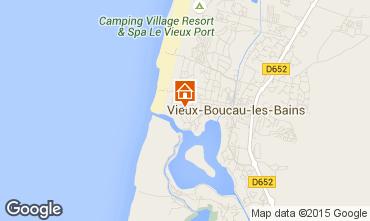 Carte Vieux Boucau Appartement 85237