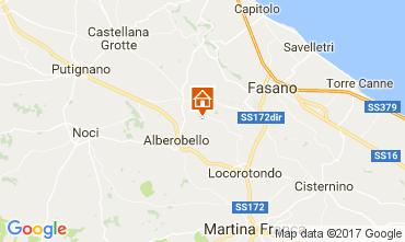 Carte Alberobello Gite 110127