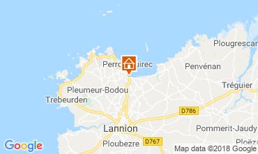 Carte Perros-Guirec Appartement 116478