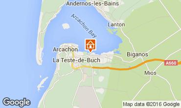 Carte Arcachon Mobil-home 102365