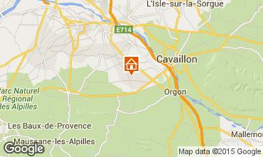Carte Saint R�my de Provence Gite 11846