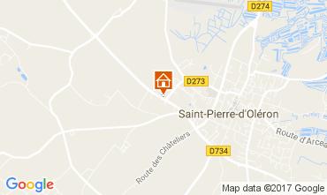 Carte Saint Pierre d'Oléron Maison 108163