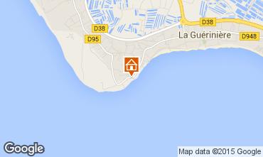 Carte Noirmoutier en l'Île Maison 7194