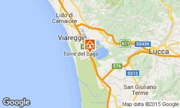 Carte Viareggio Appartement 87984