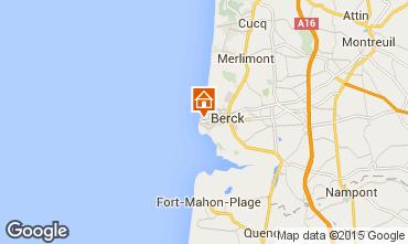 Carte Berck-Plage Maison 23153