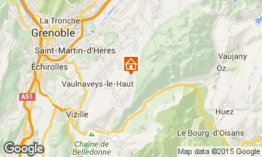 Carte Chamrousse Appartement 35627