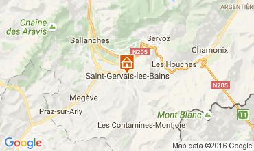 Carte Saint-Gervais-les-Bains Appartement 82224