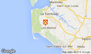 Carte La Palmyre Mobil-home 102704