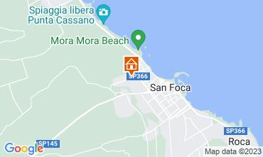 Carte San Foca Appartement 108902