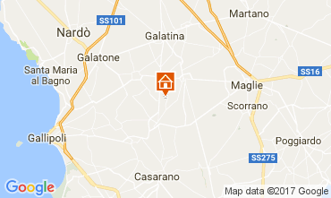 Carte Galatone Villa 107829
