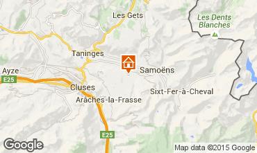 Carte Morillon Grand Massif Chalet 1881