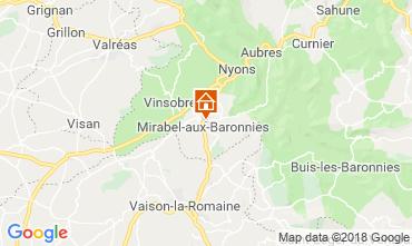 Carte Nyons Villa 117379