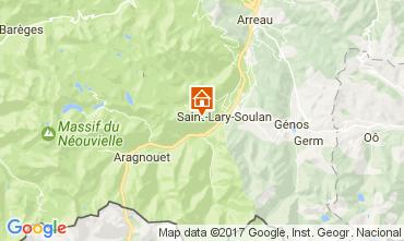 Carte Saint Lary Soulan Studio 4423