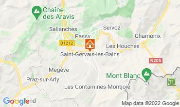 Carte Saint Gervais Mont-Blanc Appartement 66844
