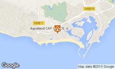 Carte Cap d'Agde Appartement 6243